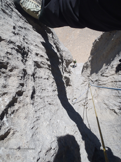 Canalizo gigante en el Canalón. Santa Ana
