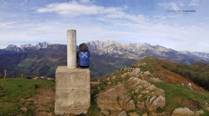 Cima del Pico Jano después de subir desde Dobarganes